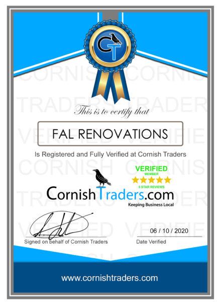 fal renovations cornwall